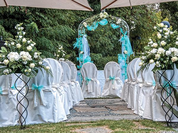 Il Relais Bellaria Hotel sconta dell'interessante 5% i ricevimenti di nozze a tutti i promessi sposi