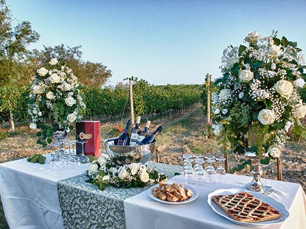 Il ristorante Podere Riosto regala agli sposi il pernottamento in suite per la prima notte di nozze