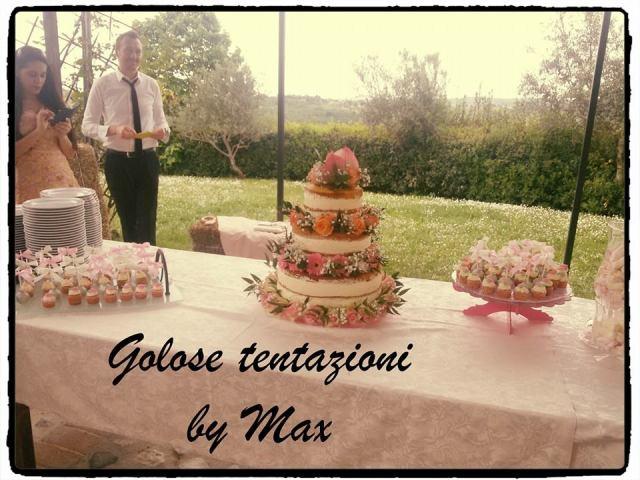 Golose Tentazioni regala il 10% di sconto a tutti gli sposi che gli commissionano la torta nuziale