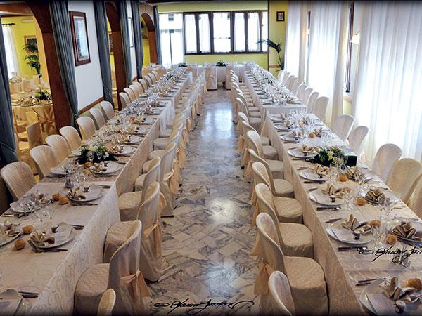 Un'occasione di risparmio attende gli sposi che organizzano il ricevimento al Ristorante Al Ciocco