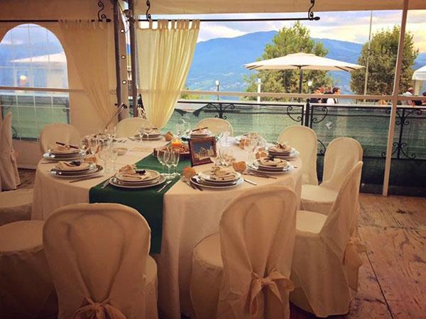 Menù di nozze feriali e fuori stagione a partire da 50 euro presso l'Albergo Ristorante Miramonti