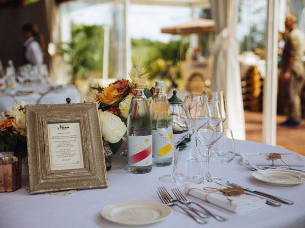 Il 5% di sconto attende gli sposi che scelgono la location Borgo dei Guidi per celebrare le nozze