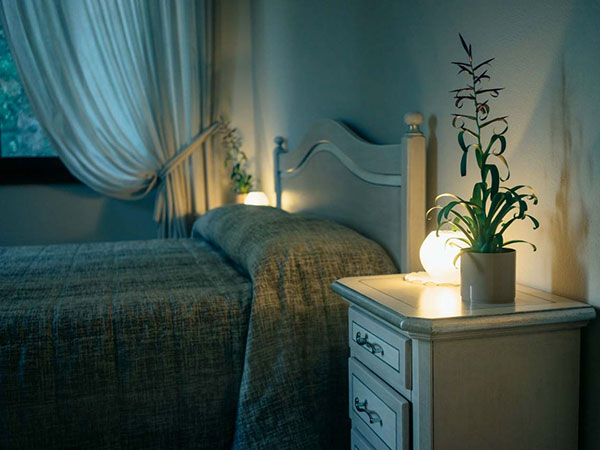 La stanza padronale per la prima notte di nozze è in omaggio scegliendo la location Borgo dei Guidi