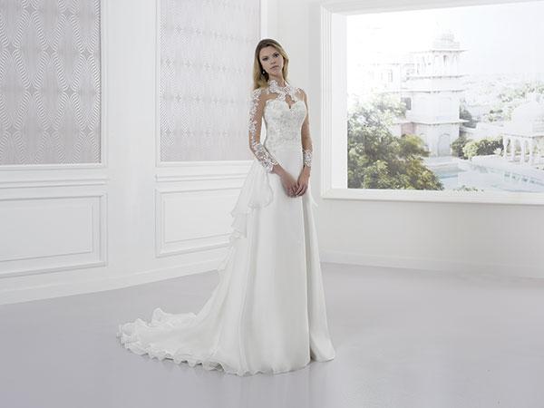 Una pioggia di vantaggi attende le spose che scelgono l\'abito per il giorno del sì da Calasfera