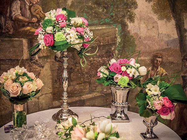 Scoprite i pacchetti per i fiori del vostro matrimonio che vi vengono proposti da Mirella Faenza
