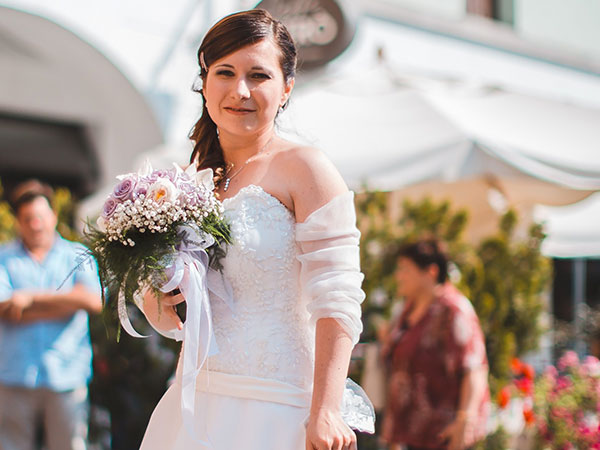 Scoprite tutte le promozioni che la Sartoria Nonsolosposa applica all\'acquisto dell\'abito da sposa