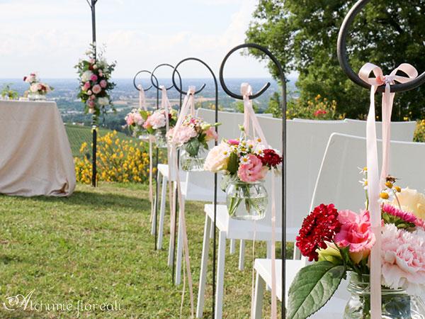 Sconti davvero speciali per gli sposi che commissionano i fiori per le nozze a Alchimie Floreali