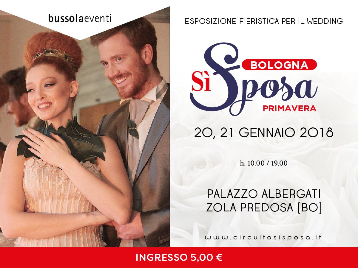 Bologna Sì Sposa, edizione primavera 2018 il 20 e 21 gennaio a Palazzo Albergati
