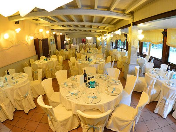 La prima notte di nozze in Villa è in omaggio per gli sposi che scelgono Ca' Borghetto Ristorante