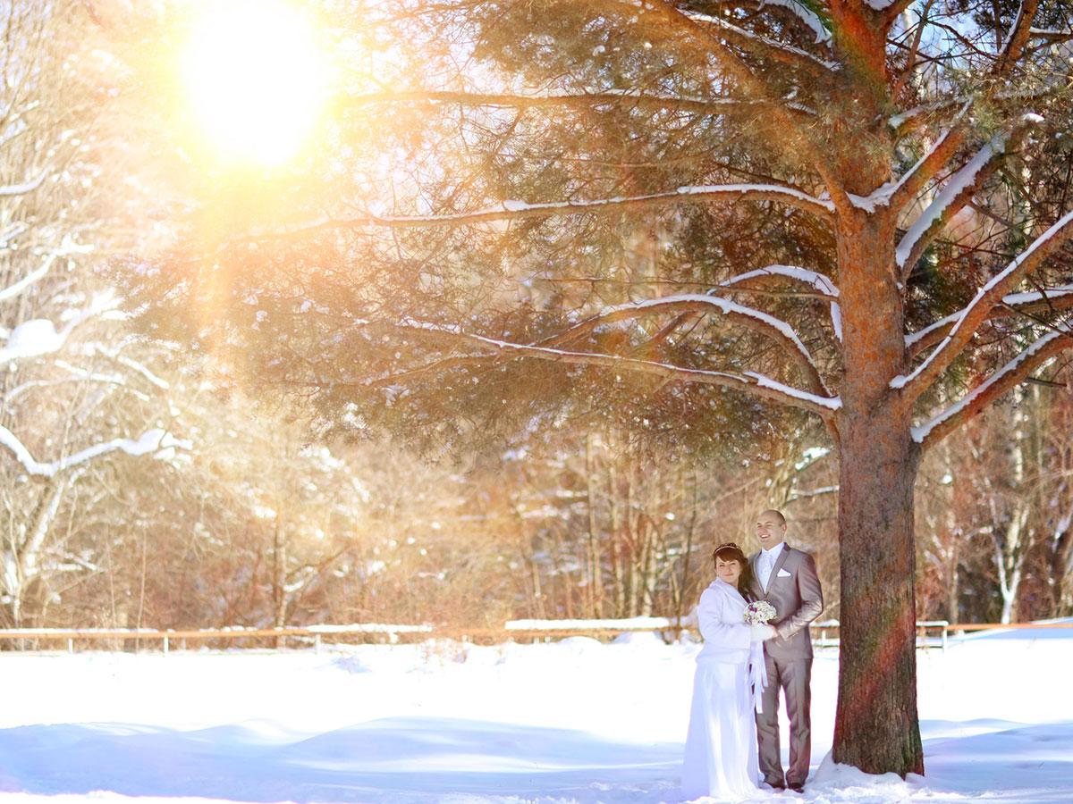 Matrimonio d'inverno, un'occasione romantica… per risparmiare un po'