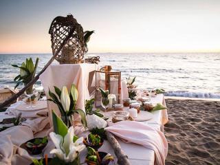 Catering del Cuore offre in omaggio a tutti i promessi sposi la degustazione del menù di nozze