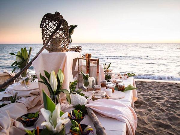L\'Alba Catering del Quore offre in omaggio a tutti i promessi sposi la degustazione del menù di nozze