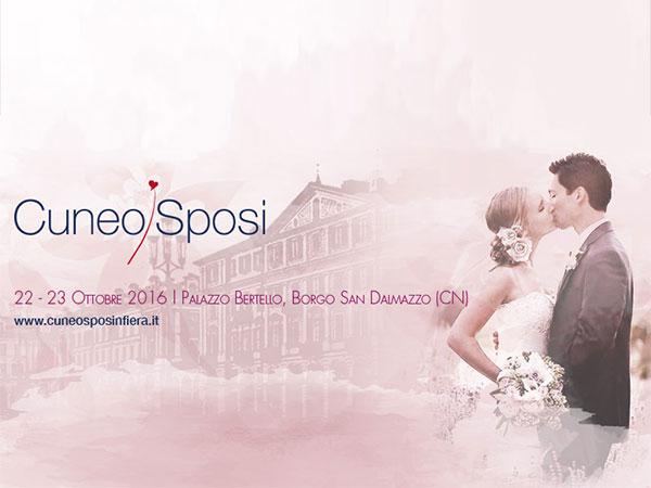 Cuneo Sposi 2016, al via la quinta edizione il 22 e 23 ottobre a Palazzo Bertello di Borgo San Dalmazzo