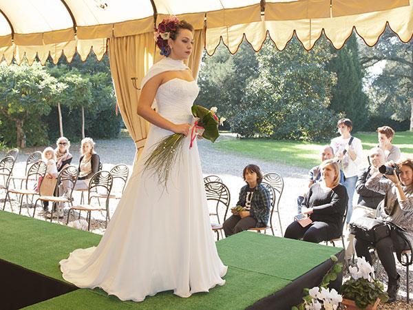 """Promozione """"Lui e Lei"""" per gli abiti degli sposi a partire da 1300 euro presso l\'atelier Dona Ti Sposa"""