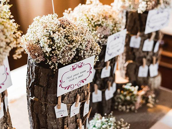 Home\'s Dream di Ferri Nadia applica il 5% di sconto ai servizi acquistati in occasione delle nozze