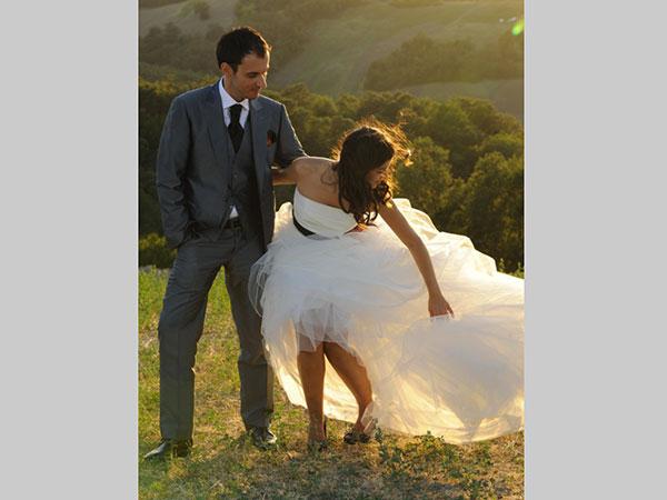 Due regali attendono gli sposi che commissionano il servizio fotografico delle nozze a Foto Ganassi