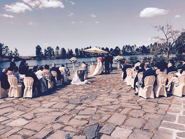 L'affitto della location per matrimoni L'Amorforte Lake Club è compreso nel prezzo del menù di nozze
