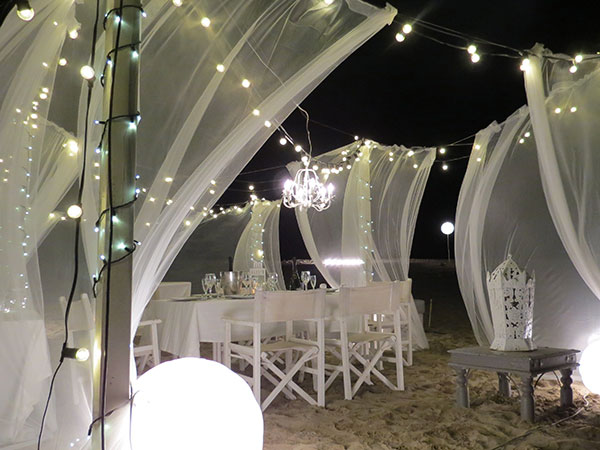 Novità in arrivo per i matrimoni sulla spiaggia con il BBK beach