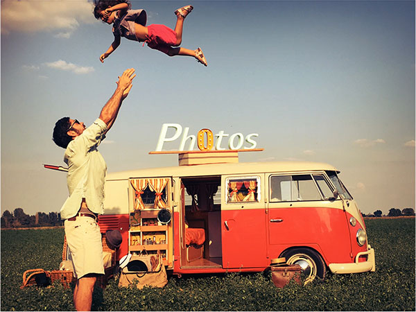 Vintage Photo Bus - Photo Booth