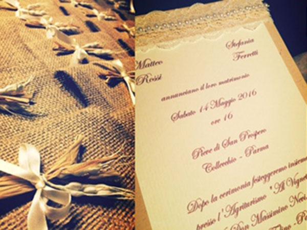 La Bottega del Matrimonio vi offre un omaggio unico per il vostro giorno più bello!