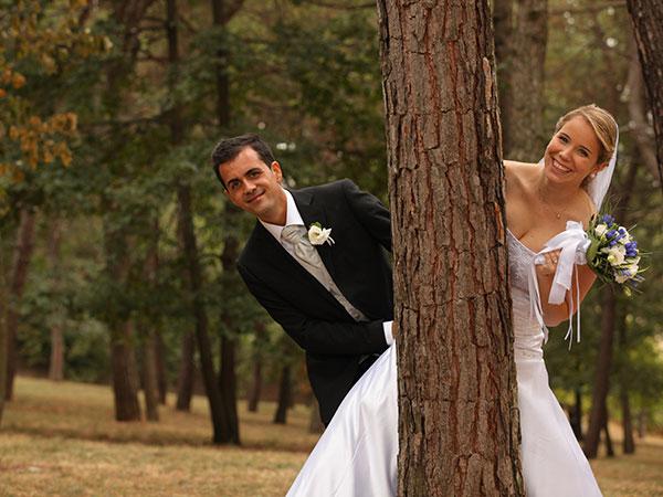 Con l\'acquisto del servizio fotografico del matrimonio presso DVD Video Service riprese drone in regalo