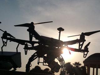 Scegliendo il pacchetto completo di Alessio Vallese Studio le foto con il drone sono omaggio