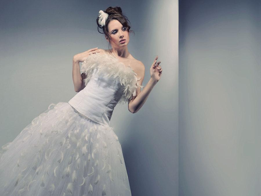 Un abito da sposa ispirato al mondo delle favole: romantico ed elegante
