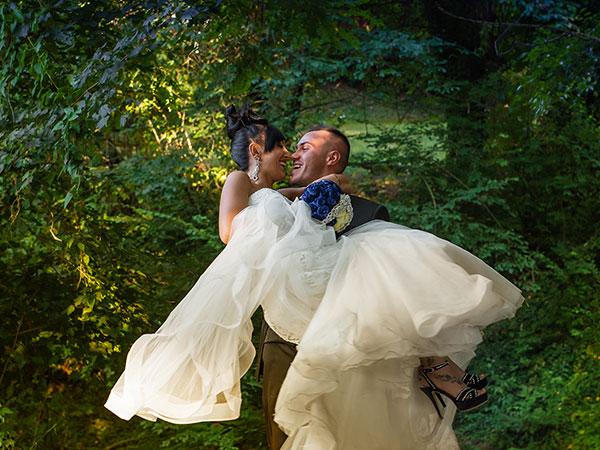 Aprile è un mese fortunato per gli sposi che scelgono il servizio nozze di Foto Zanicheli