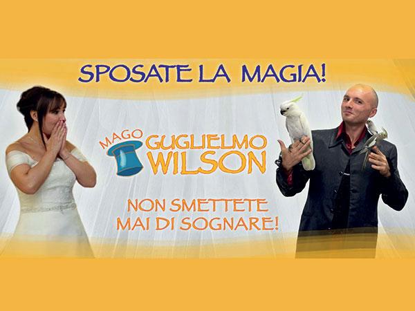 Le coppie di sposi che scelgono Mago Guglielmo Wilson potranno approfittare del cospicuo 10% di sconto