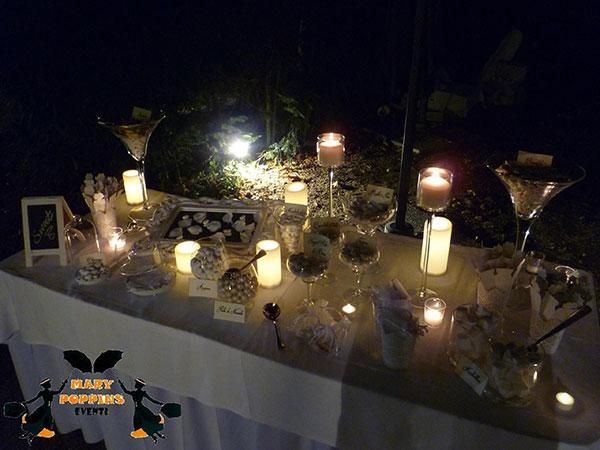 Scegliendo gli allestimenti luminosi per le nozze di Mary Poppins Eventi, la confettata è in omaggio