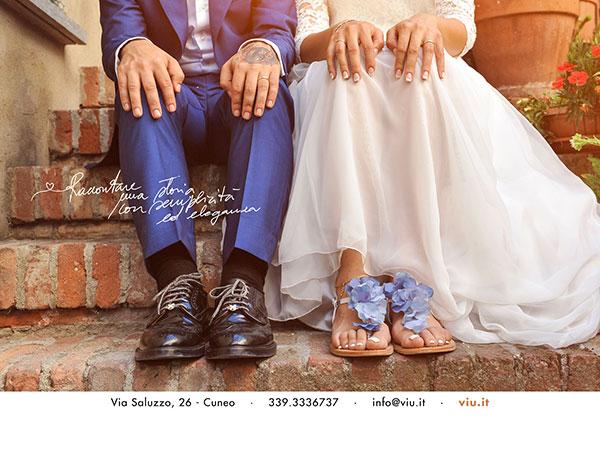Uno sconto di 100 euro agli sposi che scelgono il servizio fotografico di Massimiliano Baj