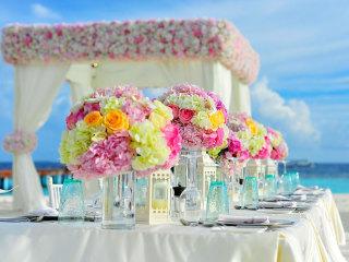 Quando non è solo questione di stoffa… la tovaglia per il vostro ricevimento di nozze