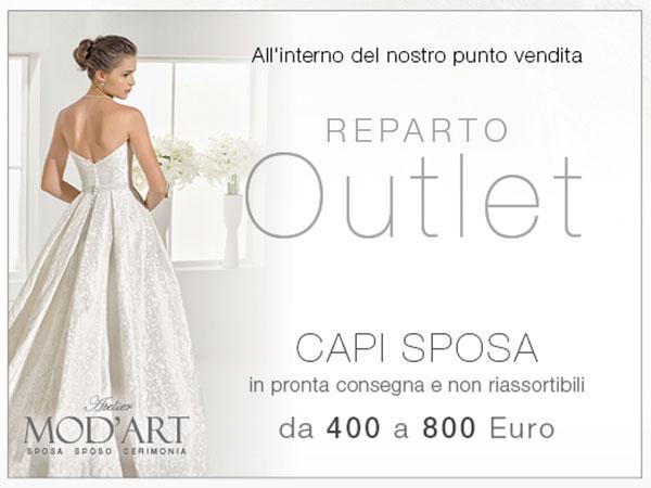 Mod'Art offre una selezione esclusiva di capi sposa con prezzi da 400 a 800 euro