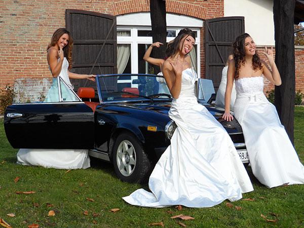 Alle prime 10 coppie che scelgono l\'auto da cerimonia da Driving Vintage uno speciale sconto del 5%