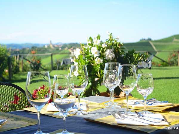 Organizzare il ricevimento di nozze dal lunedì al giovedì presso il ristorante Casa Nicolini riserva interessanti sconti