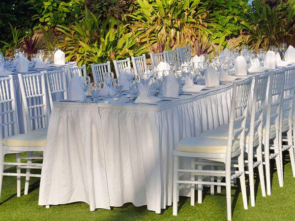 Alcune regole da ricordare assolutamente nella disposizione dei tavoli del vostro banchetto di nozze