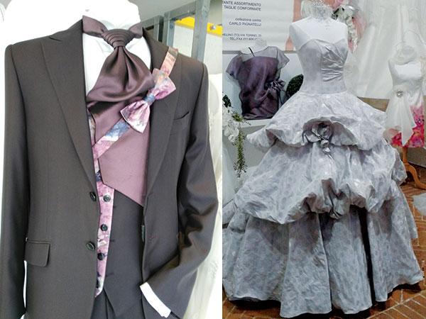 L'abito da sposa e quello dello sposo sono vostri con soli 1290 euro da Centro Moda Anna Musso