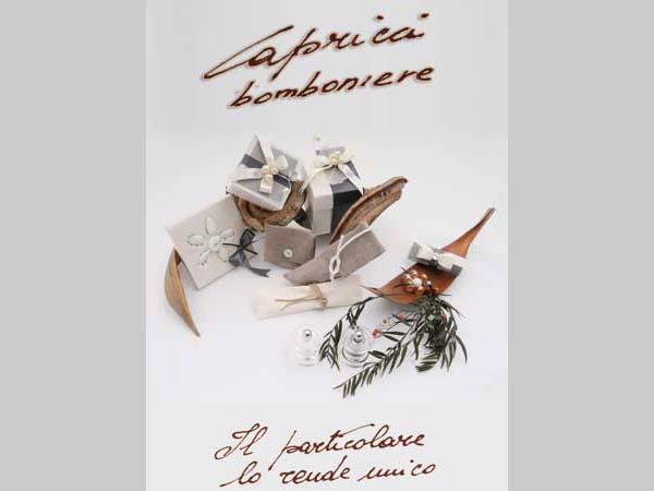 Non perdetevi lo sconto del 20% di Capricci Bomboniere sugli acquisti per le vostre nozze