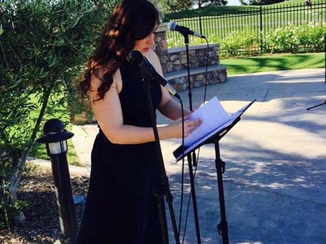 Enrica - soprano e organista
