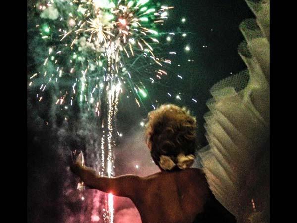 Lo spettacolo pirotecnico per il matrimonio di Fuochi Show è scontato del 15%