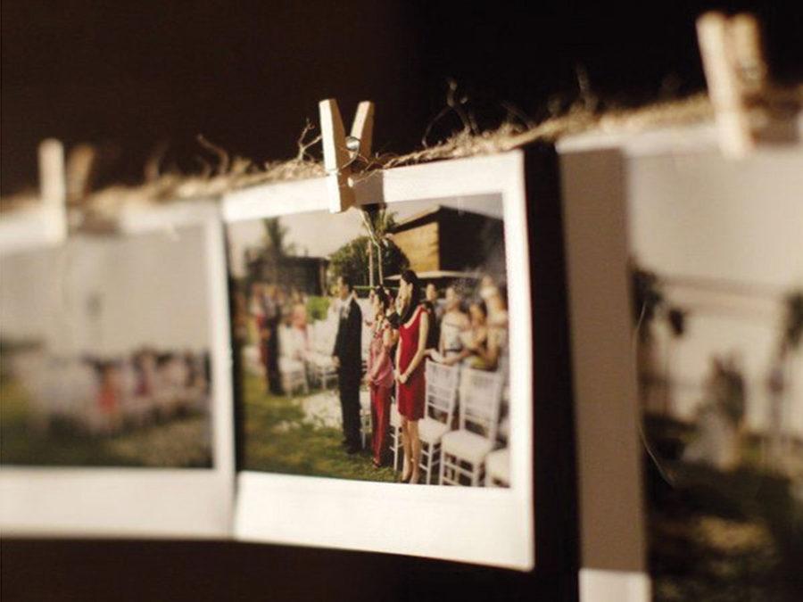 Un tocco vintage e personale con le Polaroid ... per le foto del matrimonio