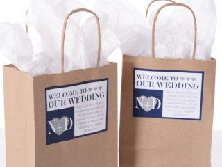 Wedding bag di matrimonio:  un pensiero di benvenuto per i vostri invitati