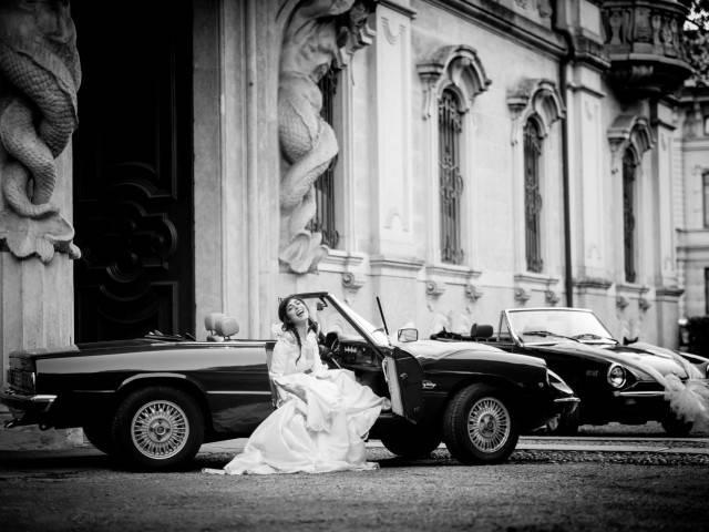 Driving Vintage offre a tutti i lettori Guidasposi il noleggio auto per il giorno delle nozze a un prezzo vantaggioso