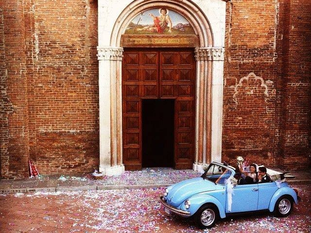 Noleggio Maggiolone d\'Epoca per Matrimoni