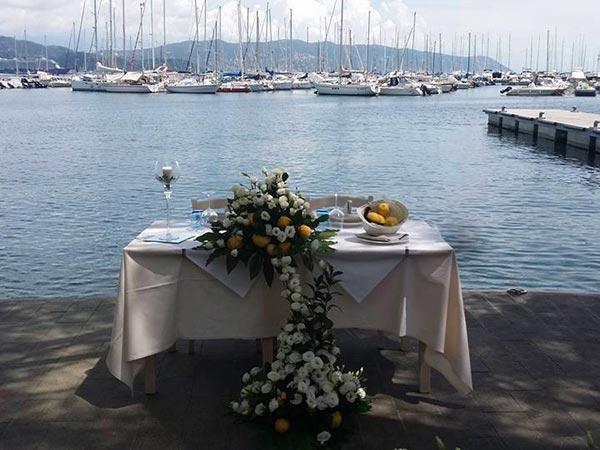Approfittate dello sconto proposto dal ristorante Il Tritone per il vostro ricevimento di matrimonio