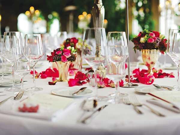 Da Il Salice Catering prezzi speciali per banchetti di matrimonio fuori stagione e nei giorni feriali