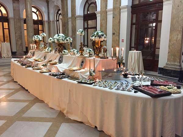 Catering Piemonte offre un interessante sconto sugli acquisti dei loro servizi per il ricevimento di nozze