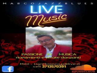 ' .  addslashes(Marco Jazz Blues - Live Music - passione in musica, ricevimenti e serate danzanti) . '