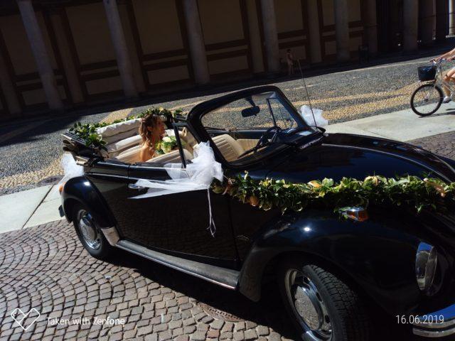 Matrimonio in Maggiolino