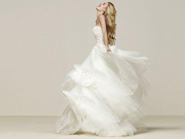 All\'atelier Mod\'Art potrai trovare abiti da sposa in pacchetto total look a un prezzo imperdibile